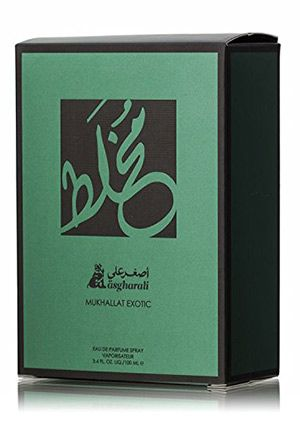 Mukhallat - Unisex Perfume 100ml Eau De Parfum Arabic Fragrance by Asgharali Perfumes