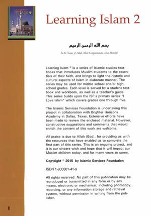 Learning Islam: Level 2 Textbook (7th Grade)