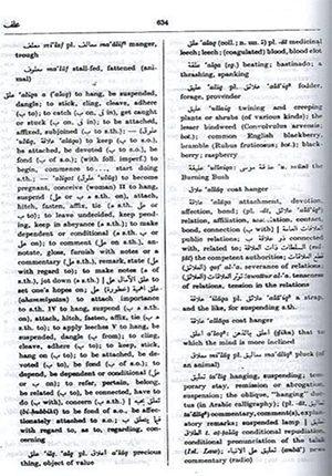 The Hans Wehr a Arabic-English Dictionary Modern Written Arabic