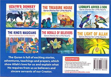 Quran Stories for Little Hearts: Box 5 (Set of 6 Softcover Books)