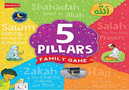 Board Game: 5 Pillars Family Game
