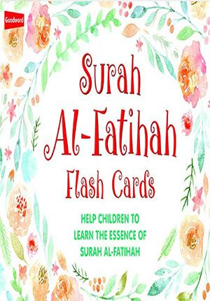 Surah Al-Fatihah (Flash Cards) English