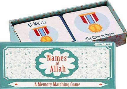 Names of Allah: A Memory Matching Game (Ar-En)
