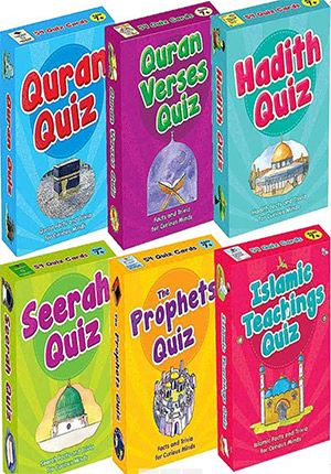 Quiz: Set of 6: Facts and Trivia for Curious Minds (English)