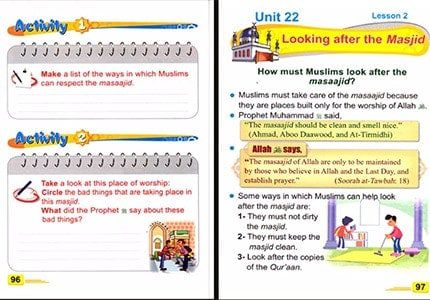 ICO Islamic Studies Textbook: Grade 3, Part 2 (English)