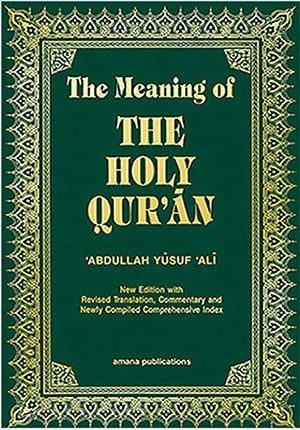 The Meaning Of The Holy Quran (English, Arabic and Arabic Edition)