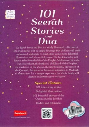 101 Seerah Stories and Dua (HC)